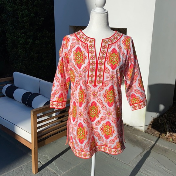 Gretchen Scott tunic or bathing suit cover up in S